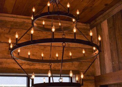 3 tier chandelier