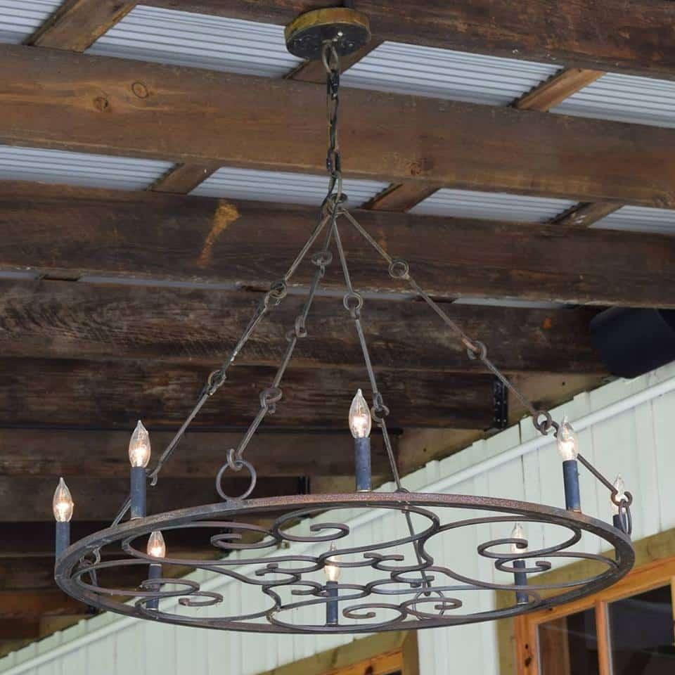 Custom designs st james lighting custom steel chandelier arubaitofo Gallery